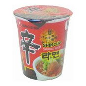 Shin Cup Noodles (Hot & Spicy) (農心特辣香菇杯面)