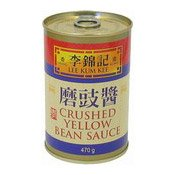 Crushed Yellow Bean Sauce (Paste) (李錦記罐裝磨豉醬)