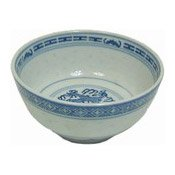 11.5cm Rice Bowl (Rice Pattern) (4.5寸米通飯碗)