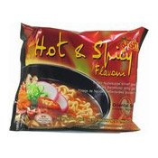 Instant Noodles (Hot & Spicy Flavour) (媽媽酸辣味麵)