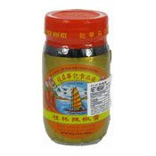 Soy Chilli Sauce (Black Bean) (冠益華記桂林辣椒醬)