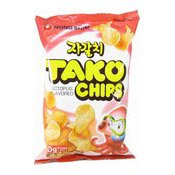 Tako Chips (Crisps Octopus Flavoured) (農心章魚餅)