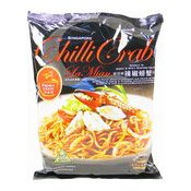 Singpore Chilli Crab La Mian (Noodles in Sweet & Spicy Seafood Sauce) (新加坡辣椒蟹拉麵)