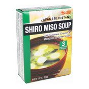 Japanese Instant Shiro Miso Soup (日本麵豉湯)