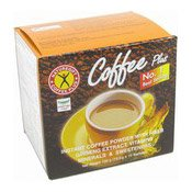 Coffee Plus With Ginseng, Vitamins & Minerals (高纖咖啡粉)
