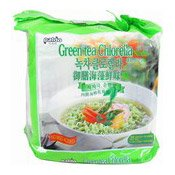 Green Tea Chlorella Instant Noodles Multipack (御膳海藻鮮味麵)