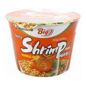 Big Bowl Instant Noodles (Shrimp) (韓國蝦味碗麵)