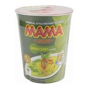 Instant Cup Noodles (Green Curry) (媽媽杯麵 (青咖哩))