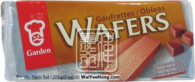 Cream Wafers (Chocolate) (嘉頓朱古力威化餅) - Click Image to Close