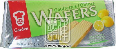 Cream Wafers (Lemon) (嘉頓檸檬威化餅) - Click Image to Close