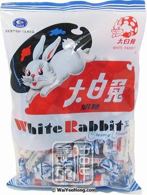 White Rabbit Creamy Candy (Original) (大白兔奶糖) - Click Image to Close