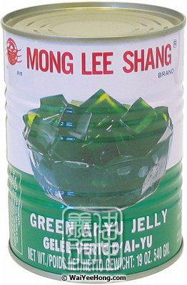 Green Ai-Yu Jelly (Thach Suong Sam) (萬里香甜青砂涼粉) - Click Image to Close