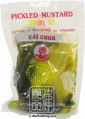 Pickled Mustard (雄雞包裝咸酸菜) - Click Image to Close