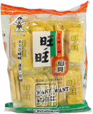 Senbei Rice Crackers (大包旺旺仙貝) - Click Image to Close