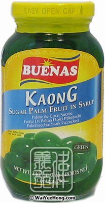 Sugar Palm Fruit In Syrup (Green) (糖水律丹(綠色)) - Click Image to Close