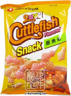 55408cd01e55 Nong Shim - Cuttlefish Flavoured Snack (墨魚味小食) - Wai Yee Hong