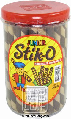 Stik-O Chocolate Wafer Stick (朱古力威化條) - Click Image to Close