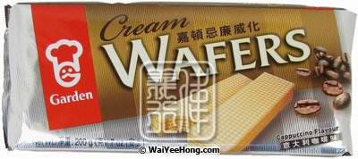 Cream Wafers (Cappuccino Flavour) (嘉頓咖啡威化餅) - Click Image to Close