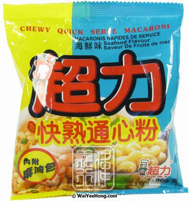 Instant Macaroni (Seafood) (快熟海鮮通心粉) - Click Image to Close