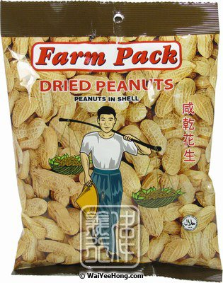 Dried Peanuts (Peanuts in Shell) (農夫咸乾花生) - Click Image to Close