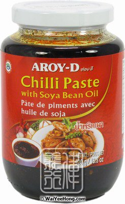 Chilli Paste With Soya Bean Oil (Namprik Pao) (泰國豉辣醬) - Click Image to Close