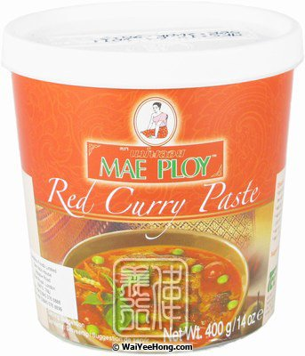 Red Curry Paste (紅咖喱醬) - Click Image to Close