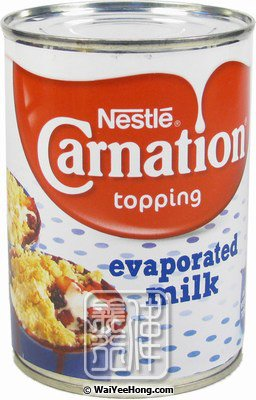 Carnation Topping Evaporated Milk (三花淡奶) - Click Image to Close