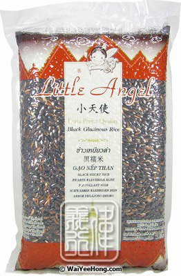 Black Glutinous Rice (Gao Nep Than) (小天使黑糯米) - Click Image to Close