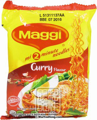 Maggi Mee Instant Noodles (Curry) (美極咖哩麵) - Click Image to Close