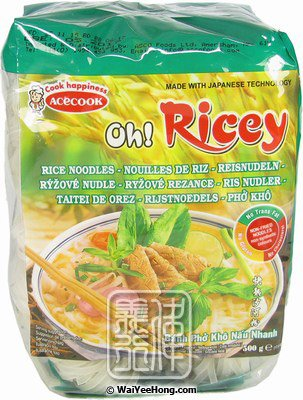 acecook oh ricey rice noodles banh pho kho nau nhanh 越南河粉