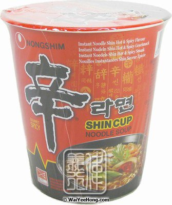 Shin Cup Noodles (Hot & Spicy) (農心辛辣杯麵) - Click Image to Close