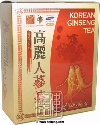 Korean Ginseng Tea (高麗人參茶) - Click Image to Close