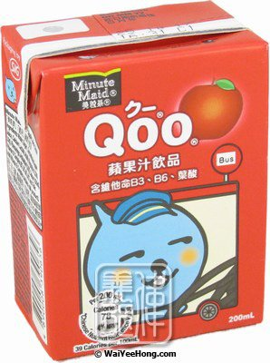Qoo Apple Juice Drink (酷兒蘋果汁飲品) - Click Image to Close