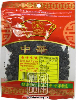 Salted Black Soyabeans (正豐原味豆豉) - Click Image to Close