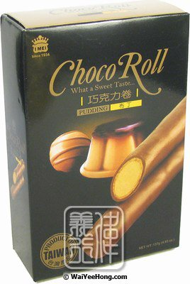 Choco Roll Cream Wafer (Pudding) (義美朱古力卷 (布丁)) - Click Image to Close