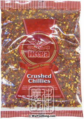 Crushed Chillies (乾辣椒碎) - Click Image to Close