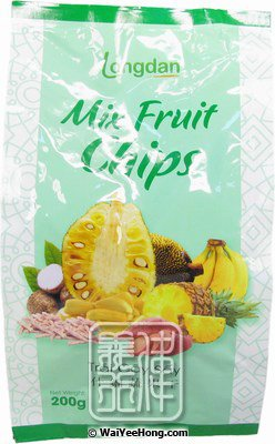 Mix Fruit Chips (Trai Cay Say) (綜合蔬果脆片) - Click Image to Close
