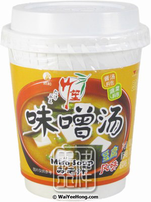 Instant Miso Soup Cup (Tofu) (欣和豆腐味噌湯) - Click Image to Close